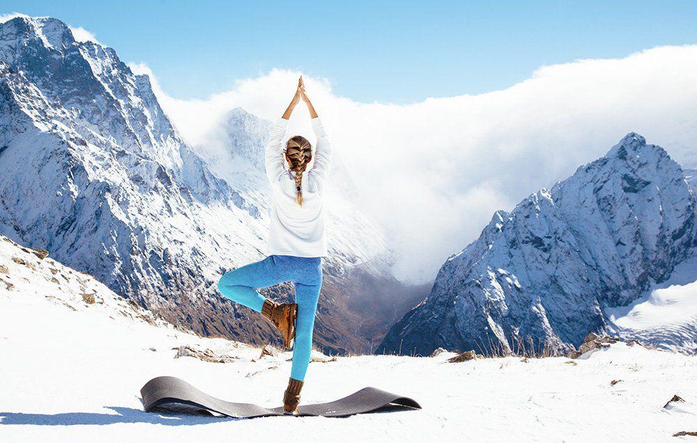 Ски йога уикенд с Гери и Валко